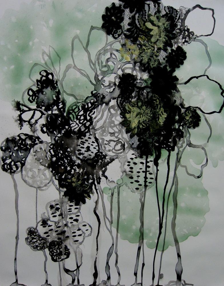 <em>A Little Green #2</em>, 2012